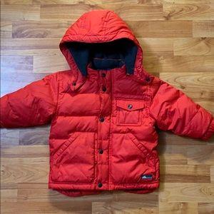 Baby GAP Red Puff Coat Jacket, 18-24 Months EUC